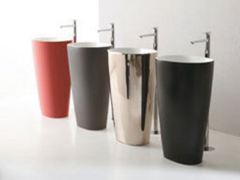 Sopha Industries - cover bicolor altheaceramica - Lavabo Sur Colonne Ou Pied