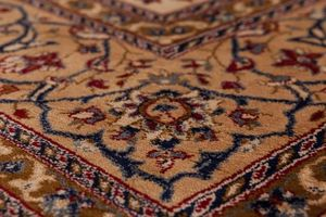 NAZAR - tapis kashmir 70x140 ivory - Tapis Traditionnel