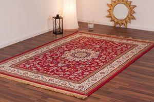NAZAR - tapis kashmir 200x300 red - Tapis Traditionnel