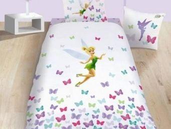 DISNEY - housse de couette fairies fresh + 1 taie - Housse De Couette Enfant