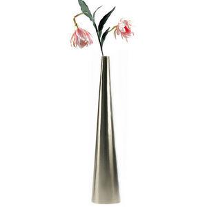 WHITE LABEL - vase soliflore design en inox - Vase Décoratif