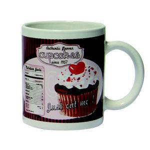 WHITE LABEL - mug vintage cupcakes - Mug