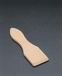 WHITE LABEL - spatules raclettes bois x 6 - Spatule