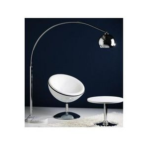 KOKOON DESIGN - lampe lampadaire arc big bow chrome - Lampadaire