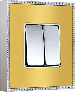 FEDE - belle �poque metal collection - Interrupteur Double