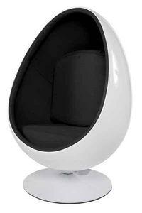 KOKOON DESIGN - fauteuil de salon design en forme d'oeuf - Fauteuil Rotatif
