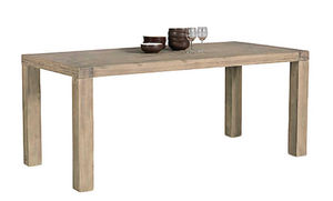 INWOOD - table repas nevada en acacia 200x100x77cm - Table De Repas Rectangulaire