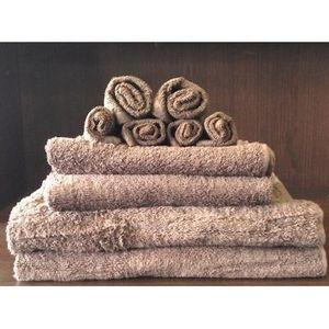 TODAY - set serviettes de bain bronze - Serviette De Toilette