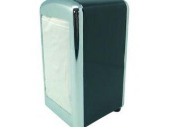 Manta Design - distributeur de serviette - couleur - noir - Distributeur De Serviettes En Papier