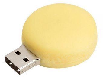 La Chaise Longue - cl� usb 8go macaron jaune - Cle Usb