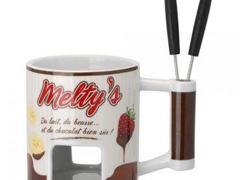 La Chaise Longue - fondue melty's - Set À Fondue Chocolat