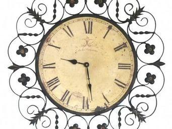 L'HERITIER DU TEMPS - horloge murale arabesque 58cm - Horloge Murale