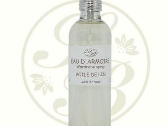 Savonnerie De Bormes - eau d'armoire - voile de lin - 100ml - savonnerie - Parfum D'intérieur