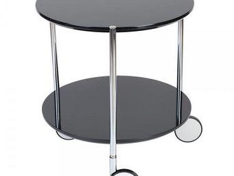 La Chaise Longue - guéridon pop noir - Table D'appoint