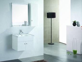 UsiRama.com - petit meuble salle de bain academie 60cm - Meuble De Salle De Bains