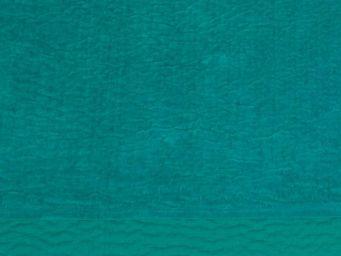 BLANC D'IVOIRE - cesar turquoise - Jeté De Lit