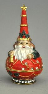 Demeure et Jardin - pere noel rouge - Vase Décoratif