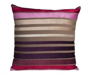 Demeure et Jardin - coussin ray� - Coussin Carr�