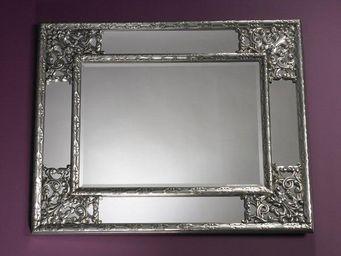 WHITE LABEL - angel miroir mural design argent� - Miroir