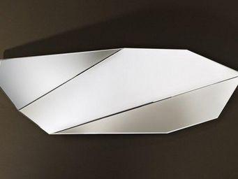 WHITE LABEL - mirah miroir mural design en verre grand modèle - Miroir