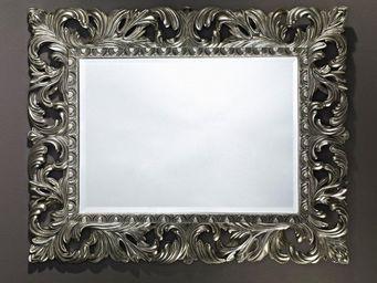 WHITE LABEL - vinci miroir mural en verre de style classique arg - Miroir