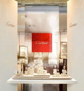 MALHERBE Paris - cartier - Agencement De Magasin