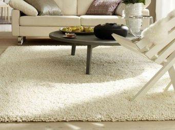 WHITE LABEL - venice tapis épais crème 170x240 cm - Tapis Contemporain