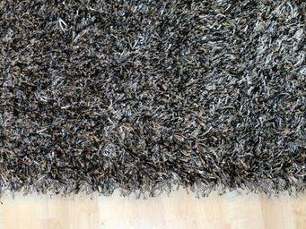 WHITE LABEL - feeling tapis épais gris foncé - 200x300 cm - Tapis Contemporain
