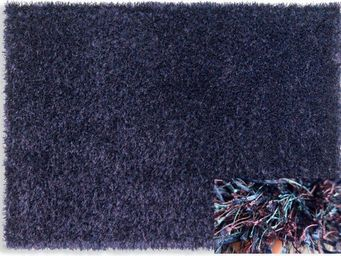 WHITE LABEL - feeling tapis épais bleu mauve 140x200 cm - Tapis Contemporain