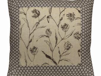 Interior's - housse de coussin tulipes 60x60 - Housse De Coussin