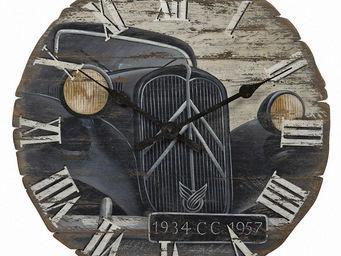Interior's - horloge traction - Horloge Murale