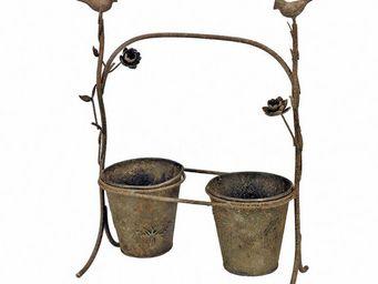 Interior's - pots sur presentoir - Cache Pot