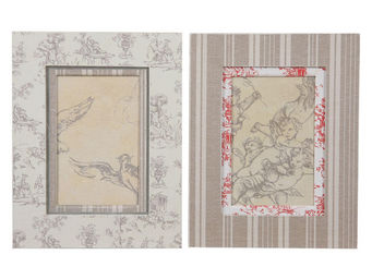 Interior's - cadre photo toile de jouy - Cadre Photo