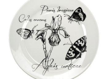 Interior's - assiette plate iris - Assiette Plate