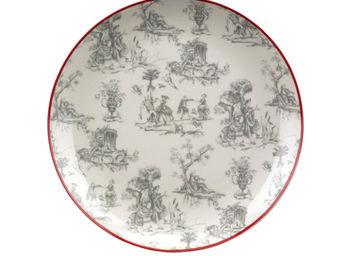 Interior's - assiette dessert motif toile de jouy - Assiette � Dessert