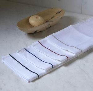 A CASA BIANCA - natural toilet set /4unit - Serviette Invité