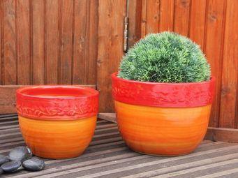 Les Poteries Clair de Terre - rose des bois - Pot De Jardin