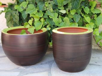 Les Poteries Clair de Terre - roc - Pot De Jardin