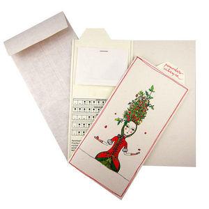 ROSSO CUORE - seeds cards ortaggi - Carte De Voeux