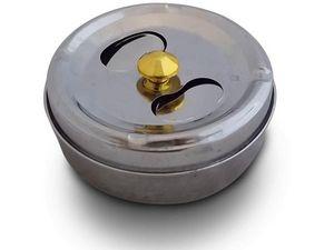 WHITE LABEL - cendrier rotatif inédit accessoire fumeur mégot ci - Cendrier