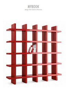 Mathi Design - bibliothèque my book-slide - Bibliothèque Ouverte