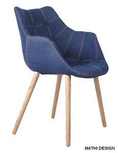 Mathi Design - chaise eleven jeans - Fauteuil