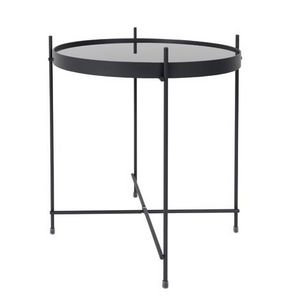 Mathi Design - table d'appoint grise - Bout De Canapé