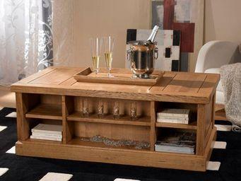Ateliers De Langres -  - Table Basse Rectangulaire