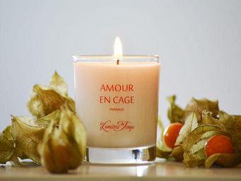 LES LUMIÈRES DU TEMPS - bougie végétale amour en cage - Bougie Parfumée