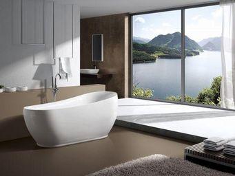 UsiRama.com - baignoire �lot ovale 1.8m x 0.85m - Baignoire Ilot