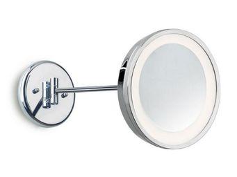 Leds C4 - miroir rond grossissant salle de bain reflex ip44 - Miroir Lumineux