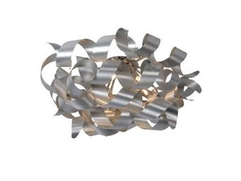 LUCIDE - plafonnier atoma d70 cm en aluminium - Plafonnier