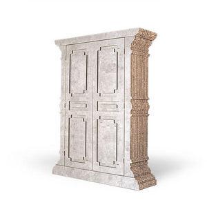 Corvasce Design - credenza a due porte  - Armoire À Portes Battantes