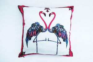 ASTRID SARKISSIAN -  - Coussin Carr�